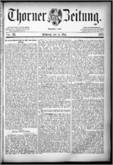 Thorner Zeitung 1879, Nro. 111