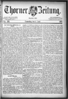 Thorner Zeitung 1879, Nro. 128