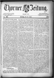 Thorner Zeitung 1879, Nro. 138