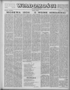 Wiadomości, R. 7 nr 27 (327), 1952