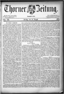 Thorner Zeitung 1879, Nro. 195