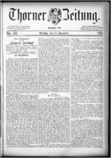 Thorner Zeitung 1879, Nro. 228