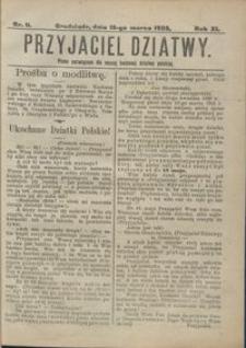 Przyjaciel Dziatwy : pismo poświęcone dla naszej kochanej dziatwy polskiej 1905.03.16 nr 11