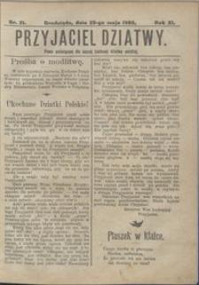 Przyjaciel Dziatwy : pismo poświęcone dla naszej kochanej dziatwy polskiej 1905.05.25 nr 21