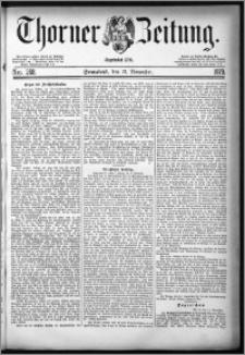 Thorner Zeitung 1879, Nro. 268