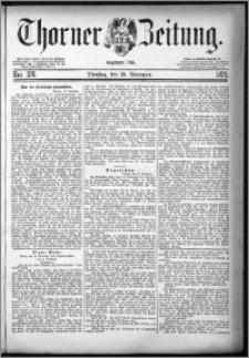Thorner Zeitung 1879, Nro. 276 + Beilage