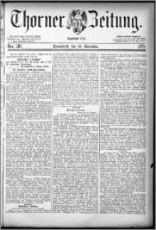 Thorner Zeitung 1879, Nro. 280