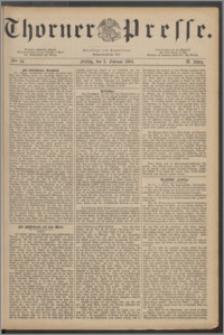 Thorner Presse 1884, Jg. II, Nro. 34