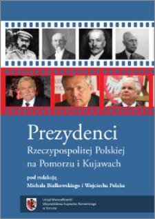 Prezydenci Rzeczypospolitej Polskiej na Pomorzu i Kujawach
