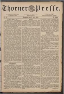 Thorner Presse 1884, Jg. II, Nro. 81