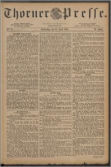 Thorner Presse 1884, Jg. II, Nro. 87