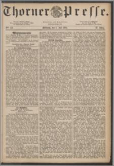 Thorner Presse 1884, Jg. II, Nro. 153