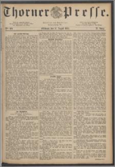 Thorner Presse 1884, Jg. II, Nro. 189