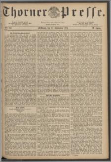 Thorner Presse 1884, Jg. II, Nro. 213
