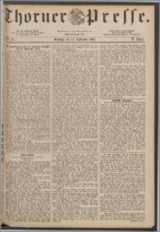 Thorner Presse 1884, Jg. II, Nro. 217