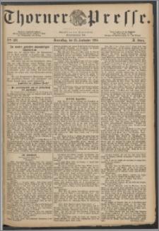 Thorner Presse 1884, Jg. II, Nro. 226