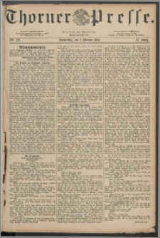 Thorner Presse 1884, Jg. II, Nro. 232