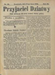 Przyjaciel Dziatwy : pismo poświęcone dla naszej kochanej dziatwy polskiej 1906.07.12 nr 28