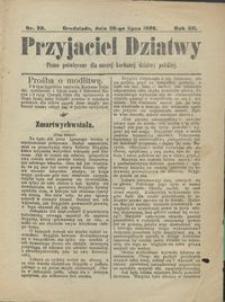 Przyjaciel Dziatwy : pismo poświęcone dla naszej kochanej dziatwy polskiej 1906.07.26 nr 30