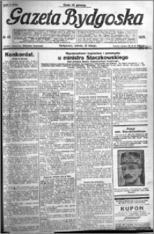 Gazeta Bydgoska 1925.02.21 R.4 nr 42