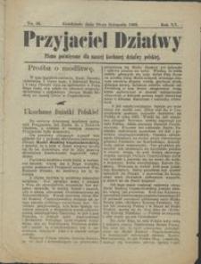 Przyjaciel Dziatwy : pismo poświęcone dla naszej kochanej dziatwy polskiej 1909.11.16 nr 46