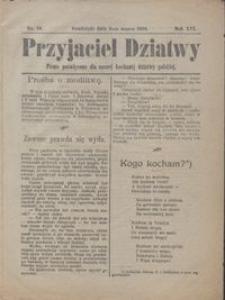 Przyjaciel Dziatwy : pismo poświęcone dla naszej kochanej dziatwy polskiej 1910.03.08 nr 10