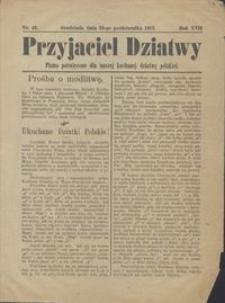 Przyjaciel Dziatwy : pismo poświęcone dla naszej kochanej dziatwy polskiej 1911.10.24 nr 43