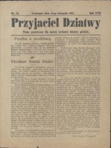 Przyjaciel Dziatwy : pismo poświęcone dla naszej kochanej dziatwy polskiej 1911.11.14 nr 46
