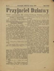 Przyjaciel Dziatwy : pismo poświęcone dla naszej kochanej dziatwy polskiej 1916.02.08 nr 6