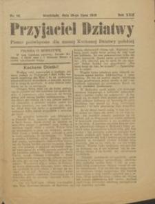 Przyjaciel Dziatwy : pismo poświęcone dla naszej kochanej dziatwy polskiej 1916.07.19 nr 26