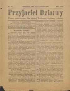 Przyjaciel Dziatwy : pismo poświęcone dla naszej kochanej dziatwy polskiej 1916.12.12 nr 41