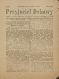 Przyjaciel Dziatwy : pismo poświęcone dla naszej kochanej dziatwy polskiej 1917.08.07 nr 29