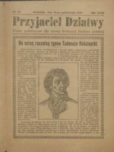 Przyjaciel Dziatwy : pismo poświęcone dla naszej kochanej dziatwy polskiej 1917.10.20 nr 39