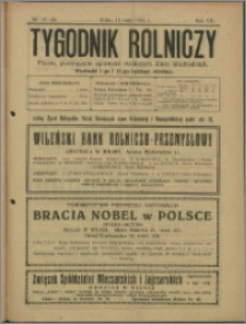 Tygodnik Rolniczy 1924, R. 8 nr 19/20