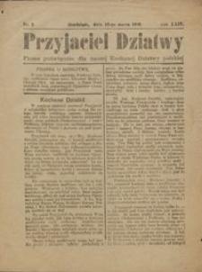 Przyjaciel Dziatwy : pismo poświęcone dla naszej kochanej dziatwy polskiej 1918.03.12 nr 8