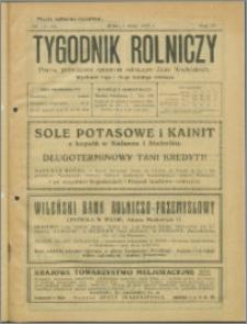 Tygodnik Rolniczy 1925, R. 9 nr 17/18