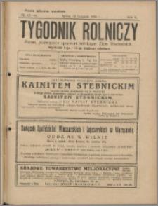 Tygodnik Rolniczy 1926, R. 10 nr 43/44