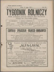 Tygodnik Rolniczy 1928, R. 12 nr 7/8
