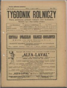 Tygodnik Rolniczy 1929, R. 13 nr 9/10