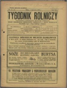 Tygodnik Rolniczy 1929, R. 13 nr 41/42