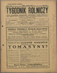 Tygodnik Rolniczy 1930, R. 14 nr 9/10