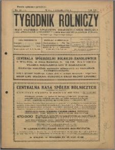 Tygodnik Rolniczy 1930, R. 14 nr 13-14