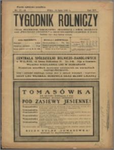Tygodnik Rolniczy 1930, R. 14 nr 27/28