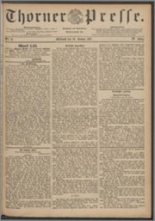 Thorner Presse 1887, Jg. V, Nro. 21 + Beilagenwerbung