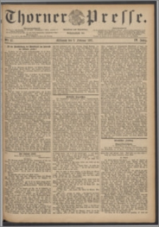 Thorner Presse 1887, Jg. V, Nro. 27