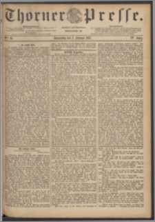 Thorner Presse 1887, Jg. V, Nro. 28