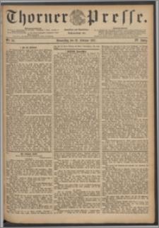 Thorner Presse 1887, Jg. V, Nro. 34