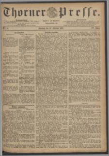Thorner Presse 1887, Jg. V, Nro. 37 + Beilage