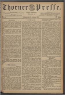 Thorner Presse 1887, Jg. V, Nro. 39 + Extrablatt