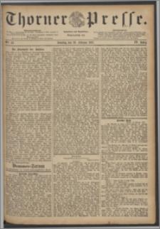 Thorner Presse 1887, Jg. V, Nro. 43